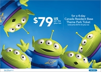 Canadian Residents: Have a Blast at All 4 Walt Disney World Parks in Florida with This Special Ticket Offer