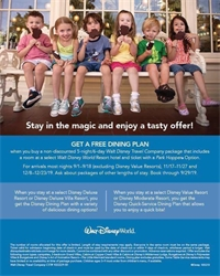 Stay in the magic and enjoy a tasty offer!