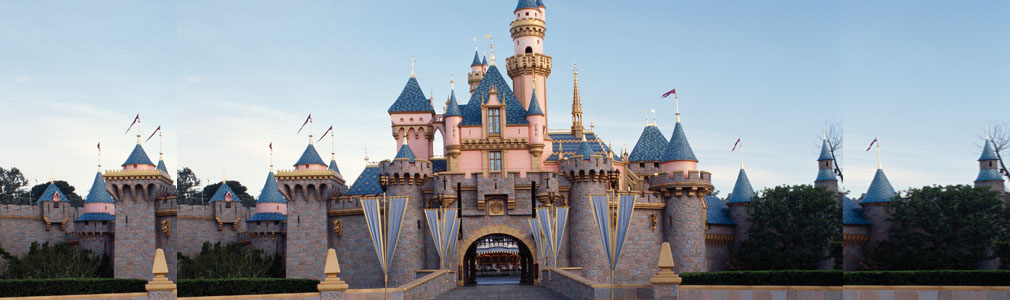 Sleeping Beauty Castle at Disneyland©