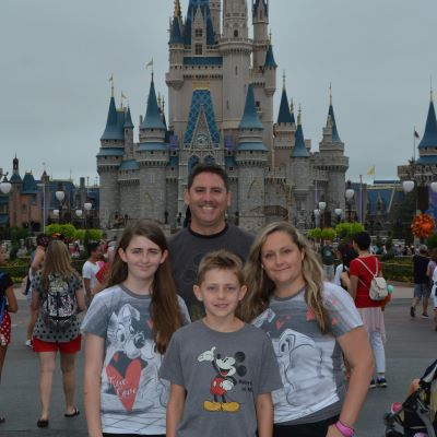 We always get a picture with Cinderella Castle!