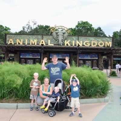 My family at Disney's Animal Kingdom