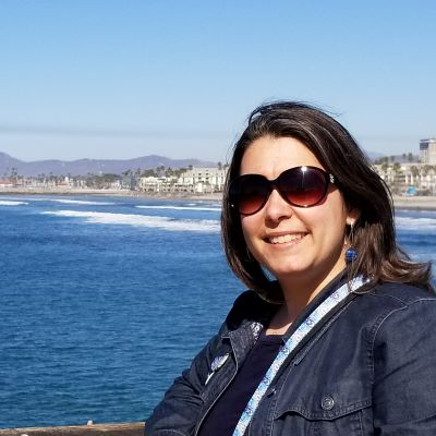 At the Oceanside Pier in Southern California.