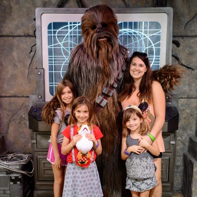 We love hanging out with Chewbacca