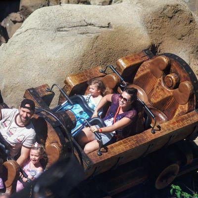 The Seven Dwarfs Mine Train is a thrill!