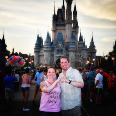 We always take a pic at Cinderella Castle