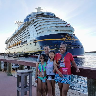Posting with the Disney Fantasy at Castaway Cay