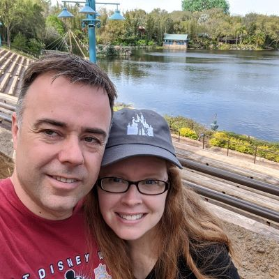 Enjoying time at Disney's Animal Kingdom