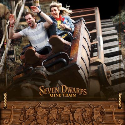 The Seven Dwarfs Mine Train is always a thrill!