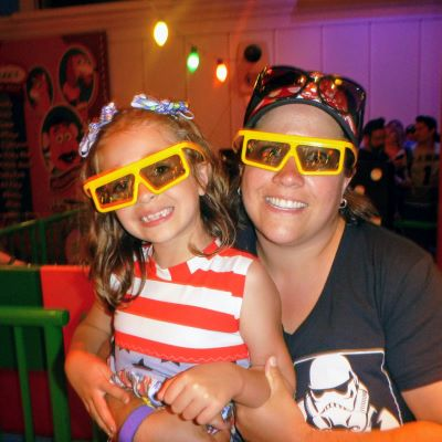 All smiles on Toy Story Mania at Disney's Hollywood Studios