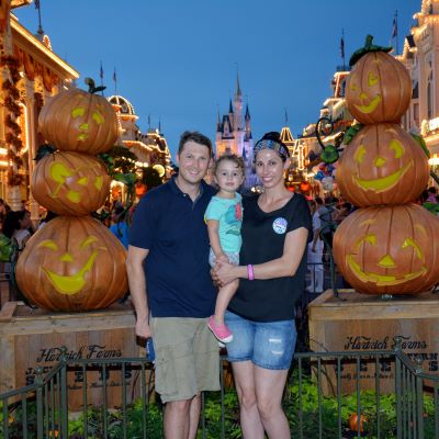 Halloween at Magic Kingdom is amazing