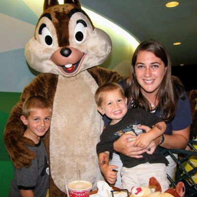 We met Chip at The Garden Grill at Epcot