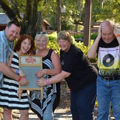 Who doesn't love the Hoop De Doo Revew at Disney's Fort Wilderness Campground?
