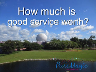 What is good service worth to you?
