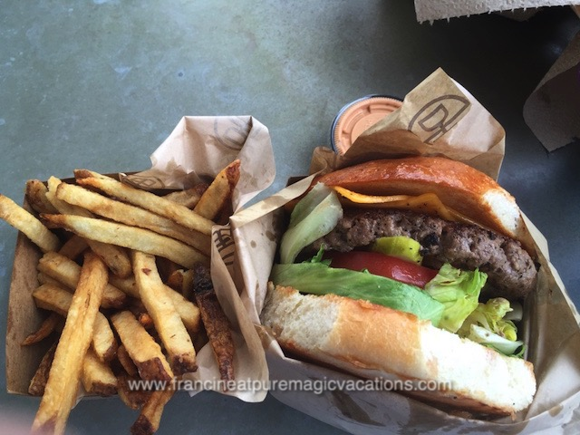 D-Luxe Burger at Disney Springs