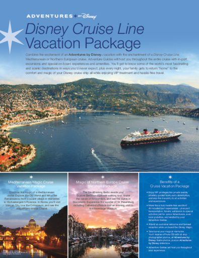 ADVENTURES by DISNEY and DISNEY CRUISE LINE